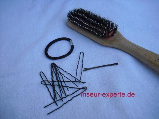 Hochsteckfrisuren selbst gemacht   Anleitung Knotenfrisur Teil 2: Twist mit hohem Knoten