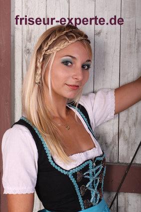 Wiesn Haarschnitt für das Oktoberfest 2011