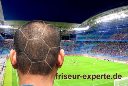 Haarmuster Hair Tribal wm Fußball frisur