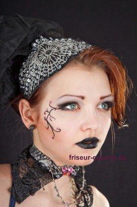 Gothic Look Frisuren Foto 1 Gothic Frisuren   Ein trendiger Auftritt für Frauen und Männer im Gothic Style