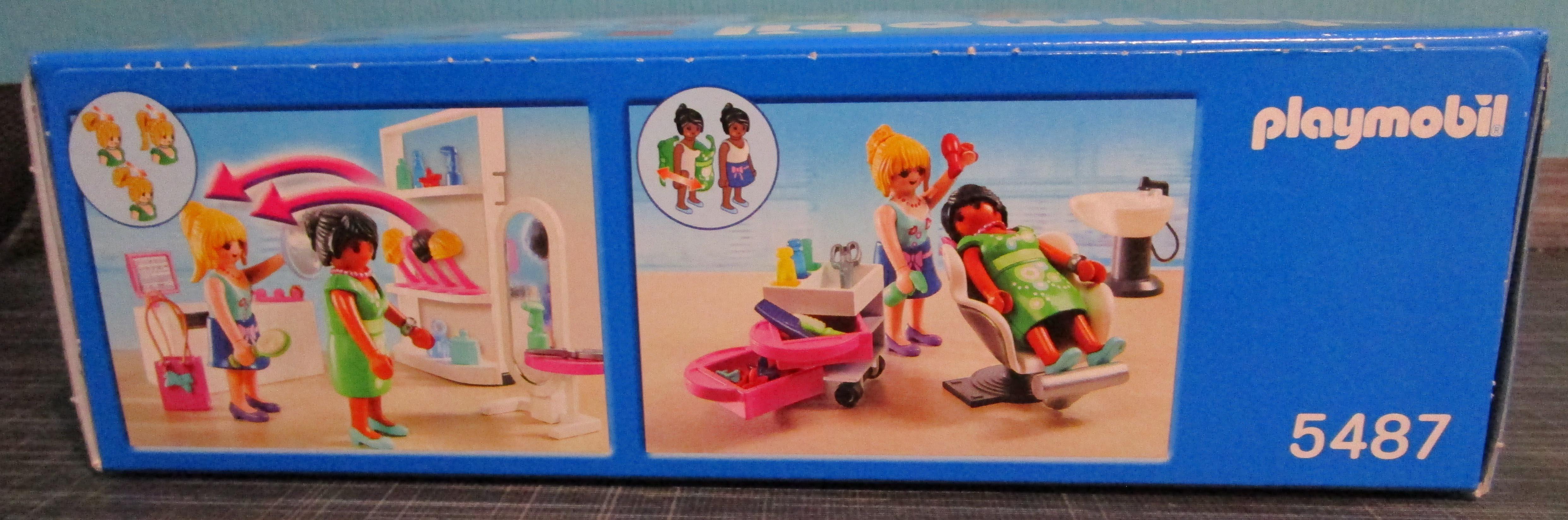 Playmobil 5487 Friseursalon Seite Playmobil Spielzeug im Vergleich: Friseursalon 4413 vs. Beauty Salon 5487   Rollenspiel Waschen, schneiden, fönen   bitte