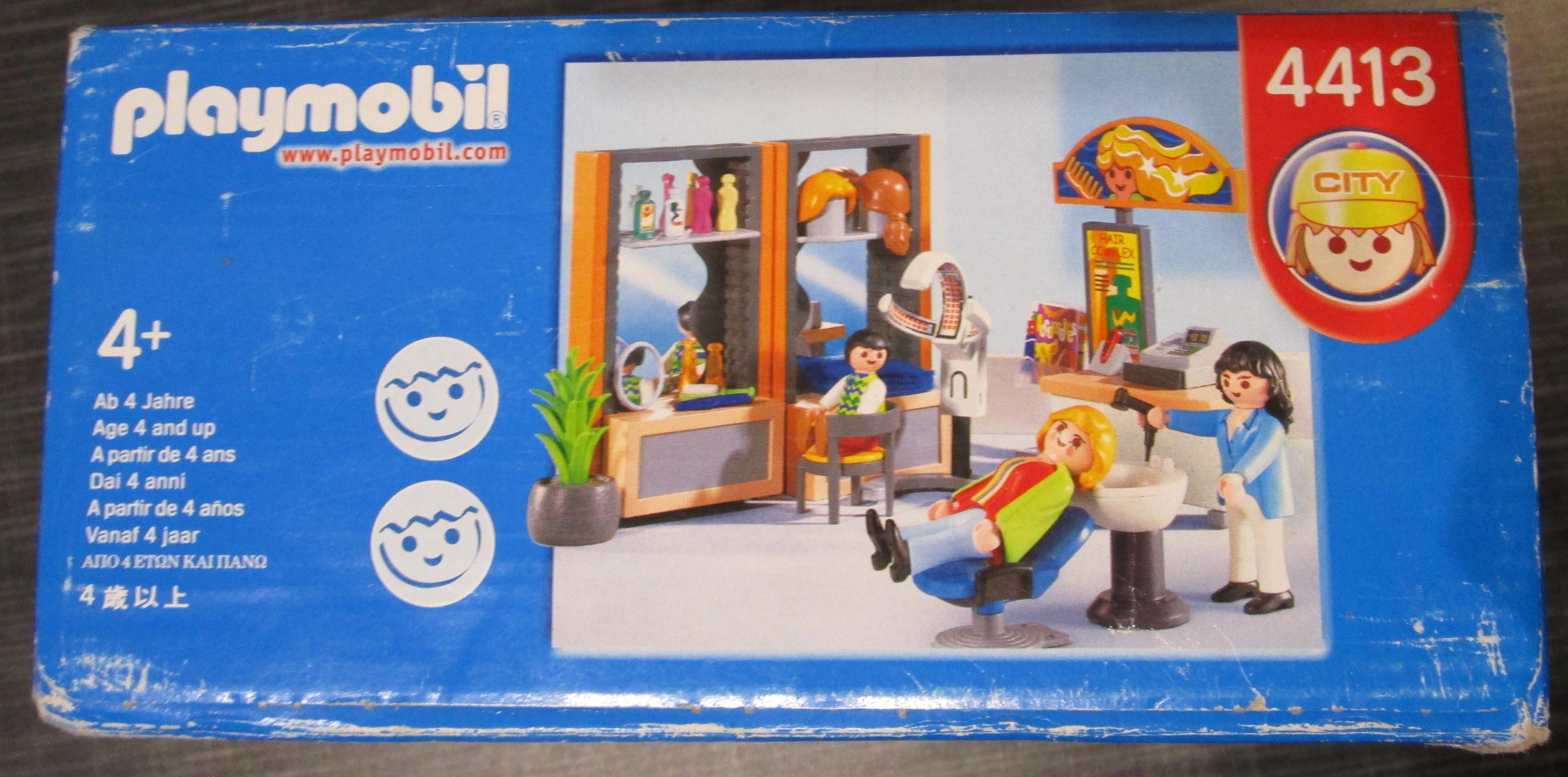 playmobil 4413 Friseur Spielzeug Seite2 Playmobil Spielzeug im Vergleich: Friseursalon 4413 vs. Beauty Salon 5487   Rollenspiel Waschen, schneiden, fönen   bitte